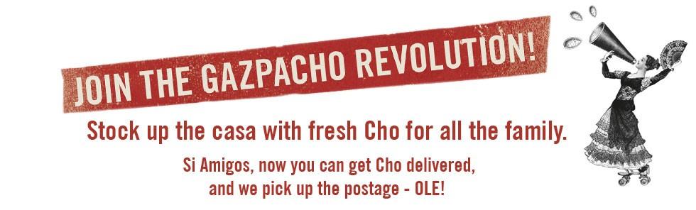 Join the Gazpacho Revolution